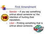 first amendment5