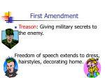 first amendment6