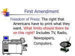 first amendment7