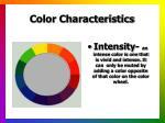 color characteristics9