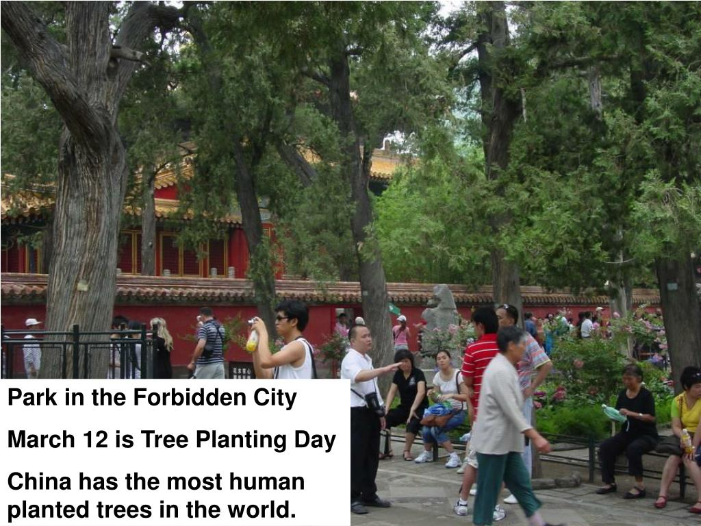 Park in the Forbidden City