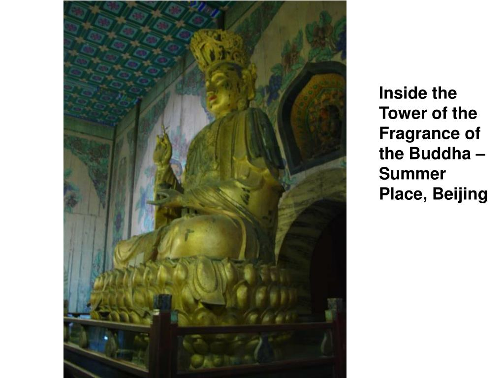Inside the Tower of the Fragrance of the Buddha – Summer Place, Beijing