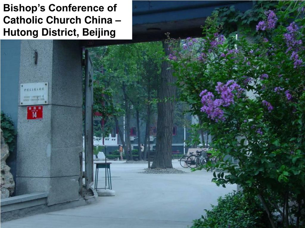 Bishop's Conference of Catholic Church China – Hutong District, Beijing