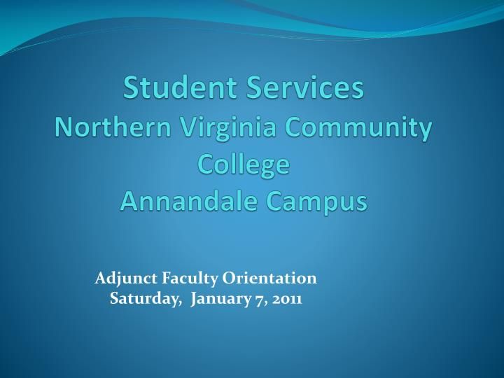 student services northern virginia community college annandale campus n.