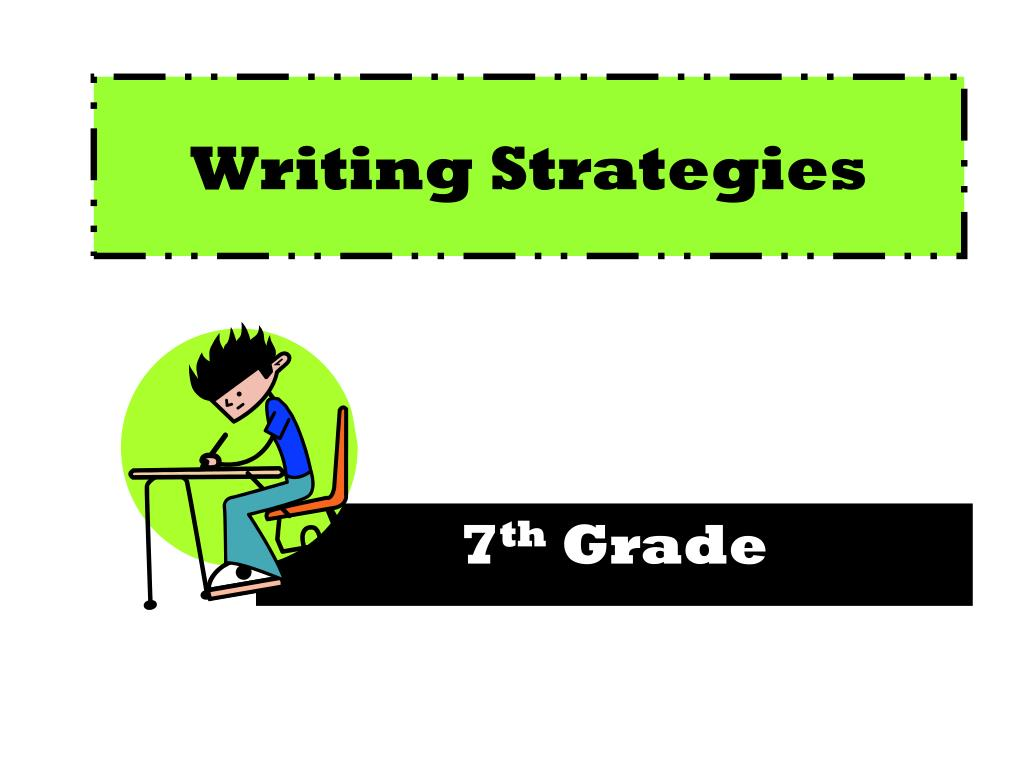 writing strategies l.
