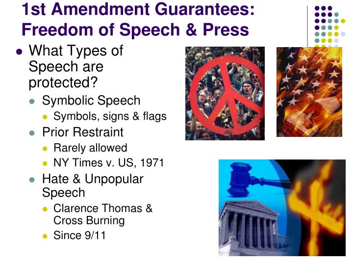 prior restraint and 1st amendment rights The history of free speech go enter a year above library search search help fire protect the speech rights of students and faculty support fire about fire.