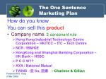 the one sentence marketing plan33