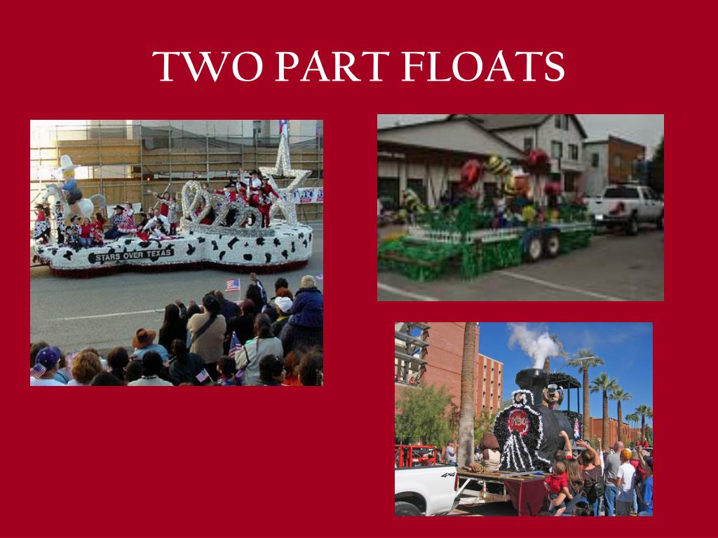 TWO PART FLOATS