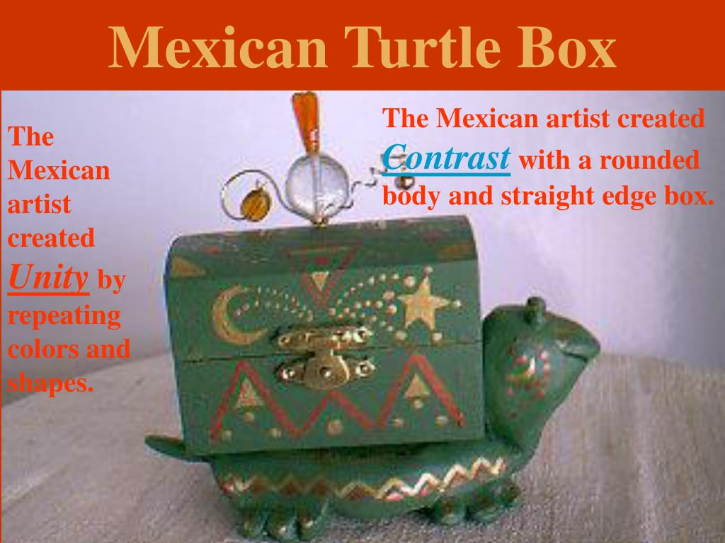Mexican Turtle Box