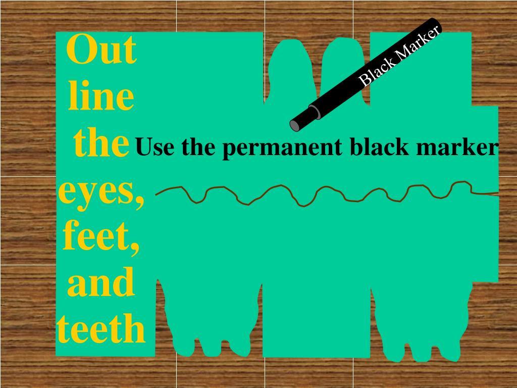 Black Marker