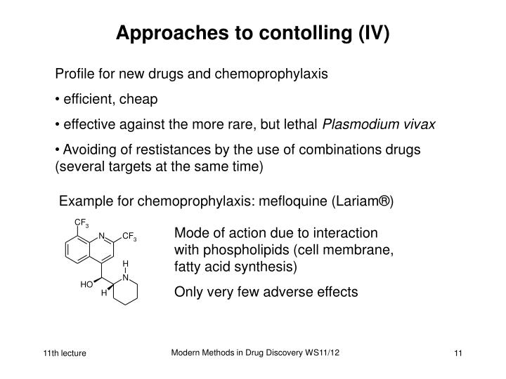 Approaches to contolling (IV)