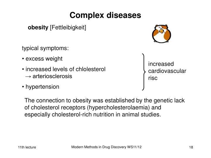 Complex diseases