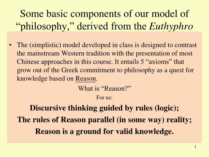 euthyphro classics of philosophy essay