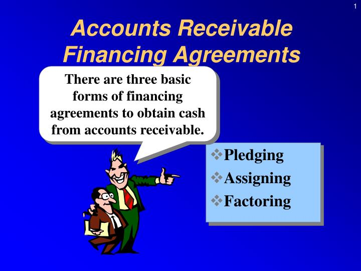accounts receivable financing agreements n.