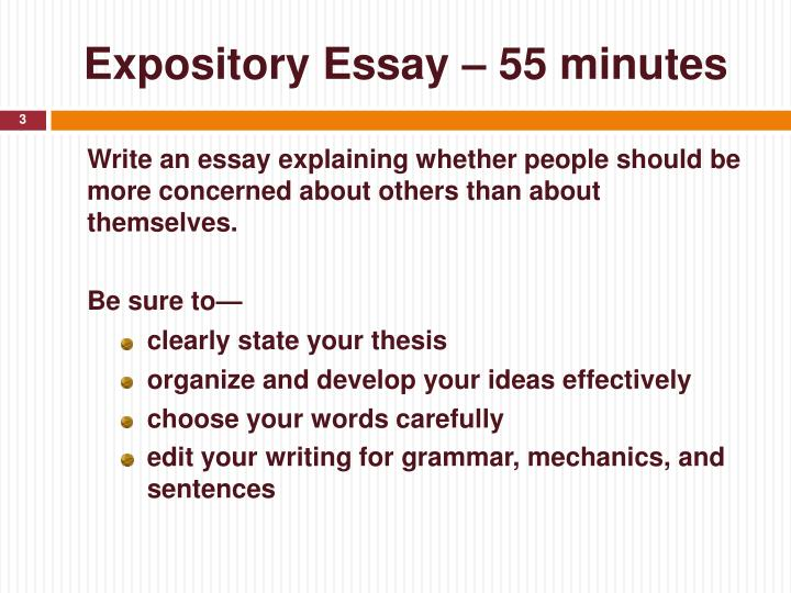 expository essay subjects The best expository essay topics, prompts and ideas in many ways, an expository essay is one of the easiest essay styles in an expository essay, you don't have to worry about defending an opinion, about crafting a unique story, about providing excellent descriptions or about illustrating a cause and effect relationship.