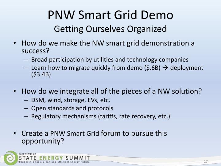 PNW Smart Grid Demo