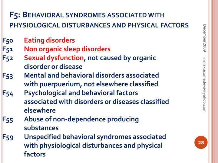 F5: Behavioral