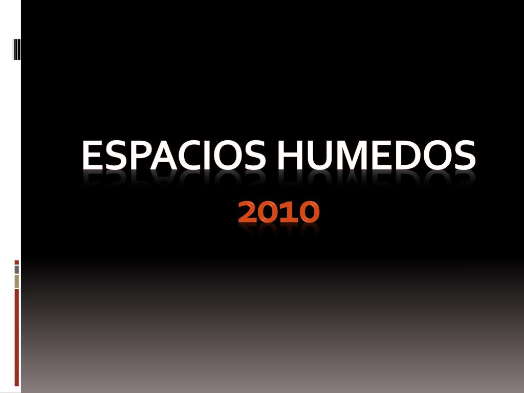 espacios humedos 2010 l.