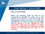 the impact analysis1