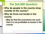 the 64 000 question