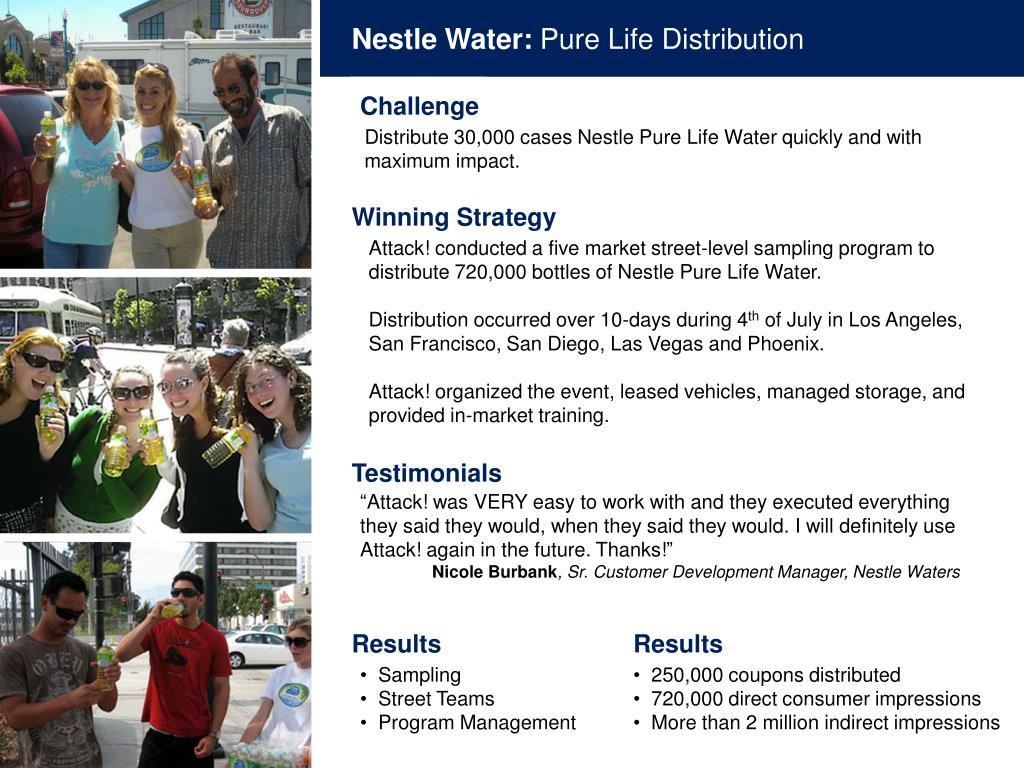 Nestle Water: