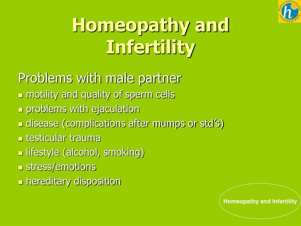PPT - WHAW 2012 Homeopathy and Infertility Helping fertility