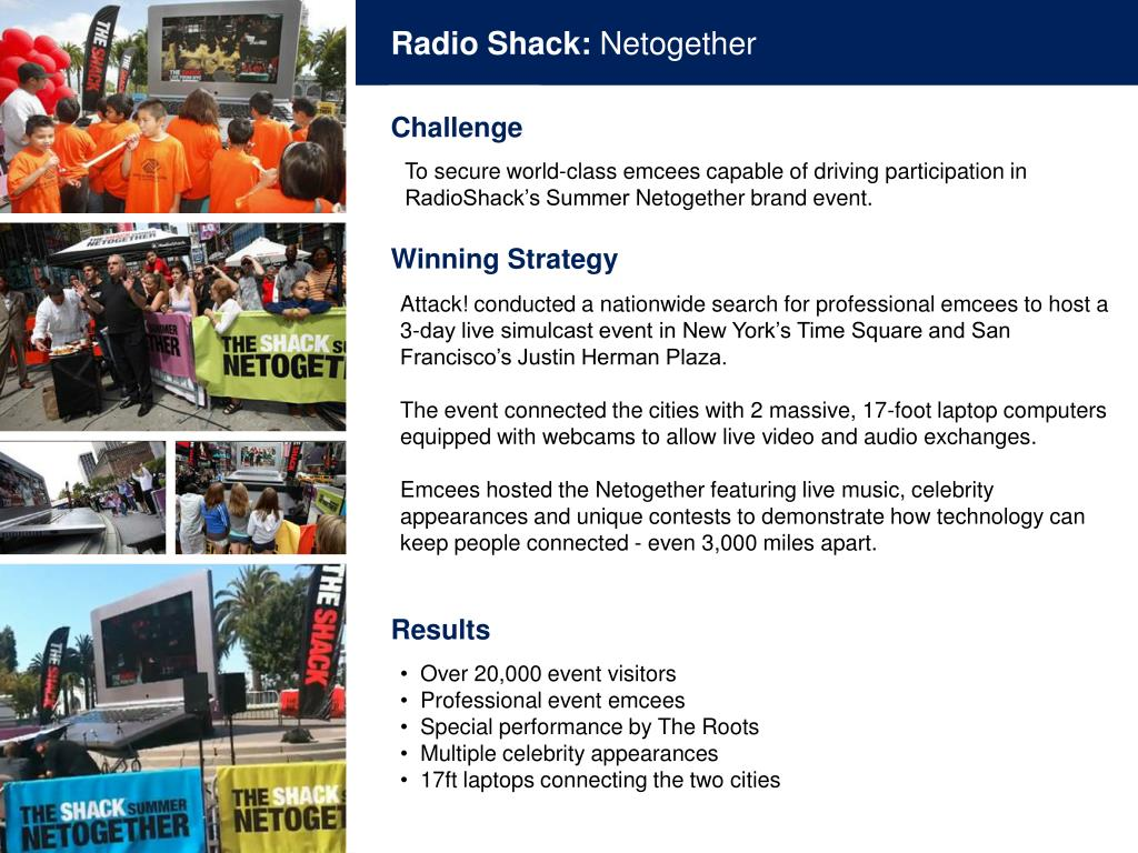 Radio Shack: