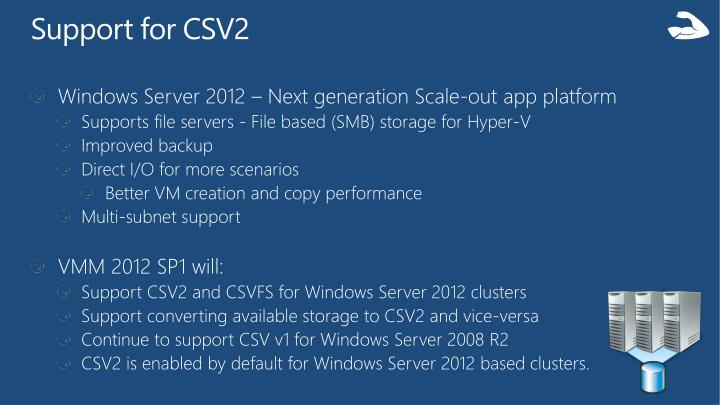 Support for CSV2