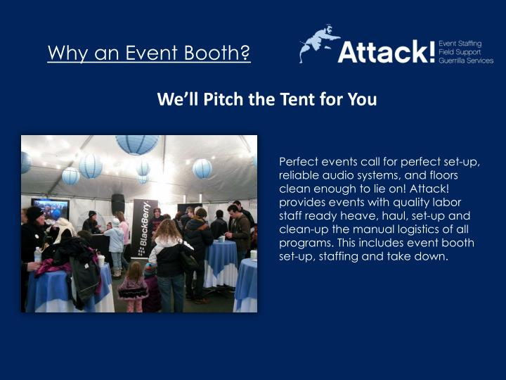 Why an Event Booth?