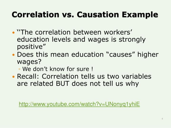 Ppt Correlation Vs Causation Powerpoint Presentation Id1161176