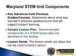 maryland stem unit components6