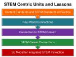 stem centric units and lessons