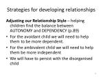 strategies for developing relationships2