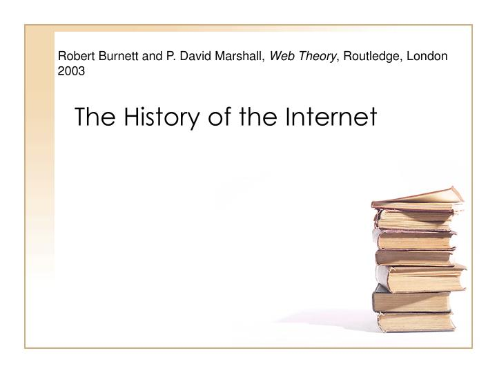 the history of the internet n.