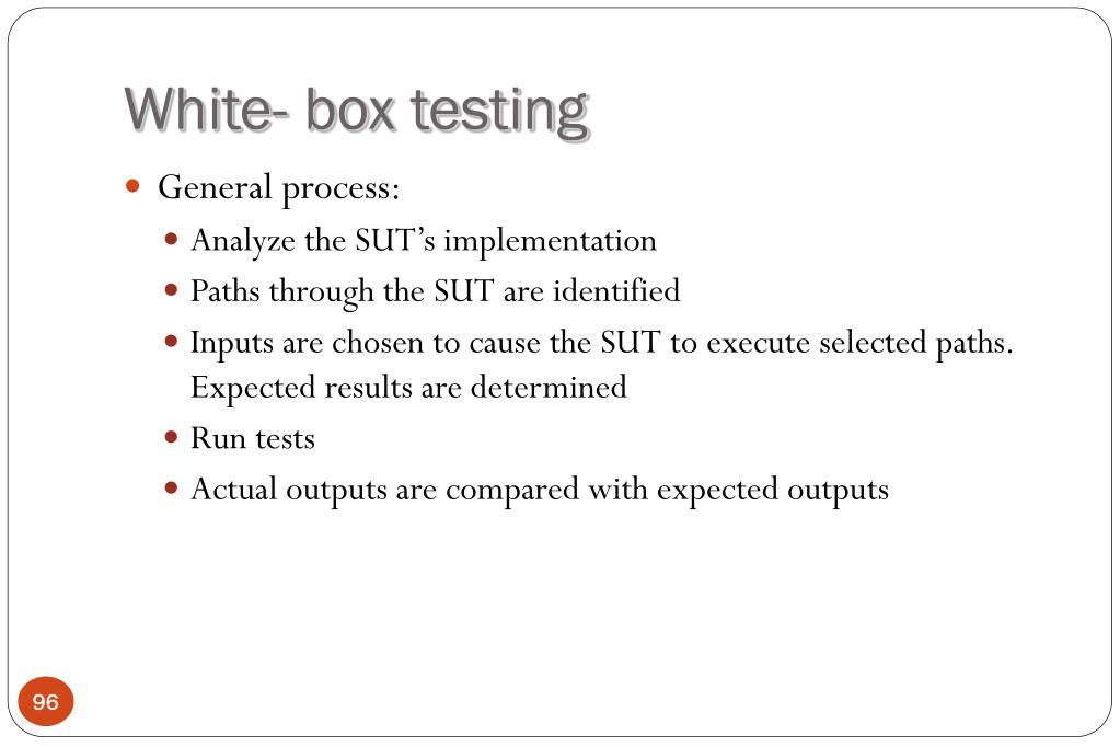 White- box testing