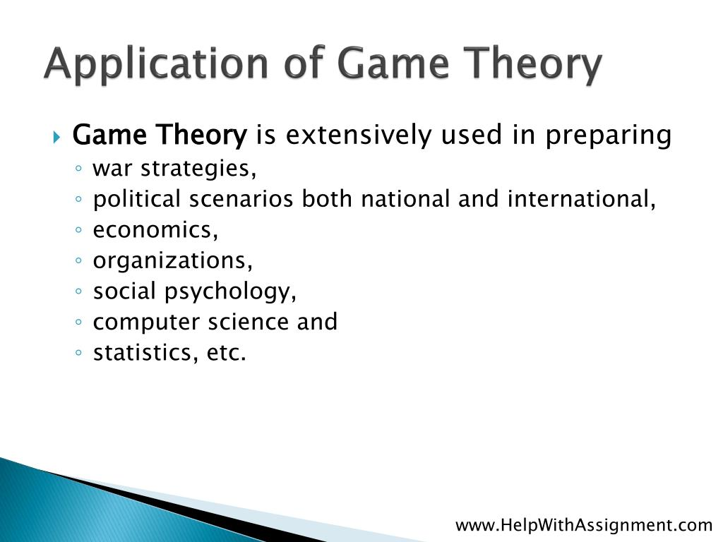 Application of Game