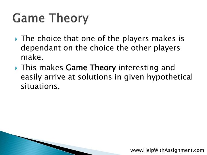 Game theory3