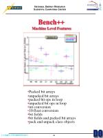 bench machine level features