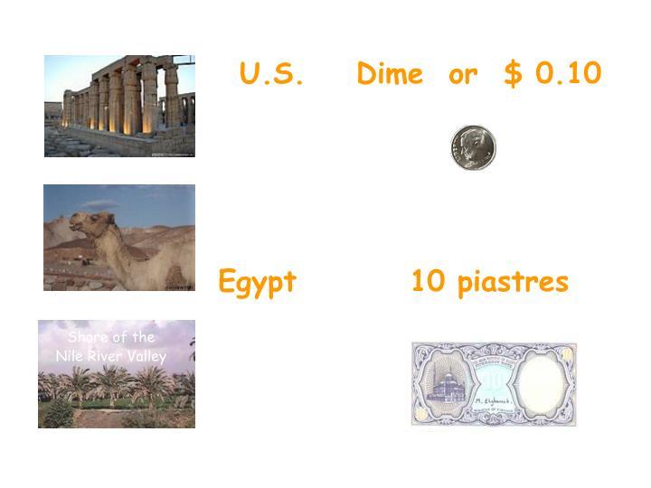 U.S.    Dime  or  $ 0.10