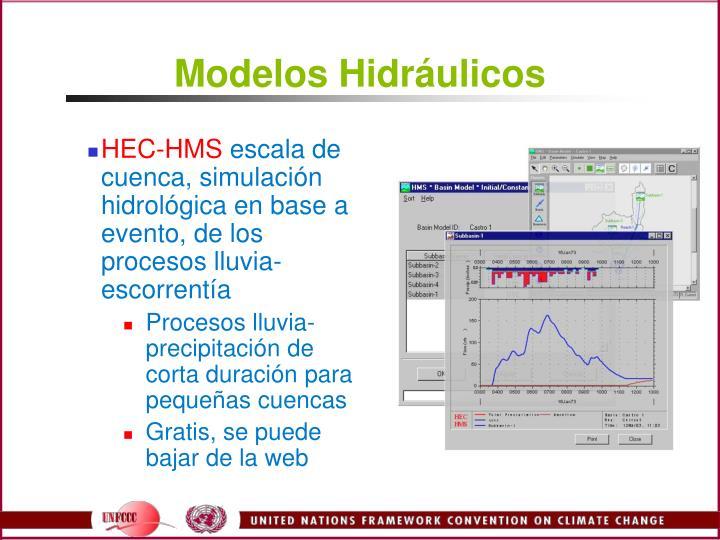 Modelos Hidráulicos