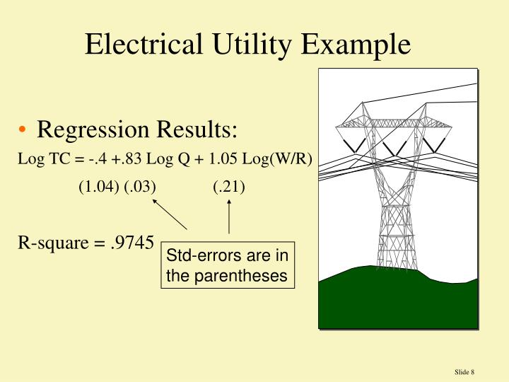 Electrical Utility Example
