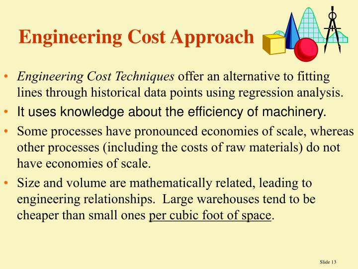 Engineering Cost Approach