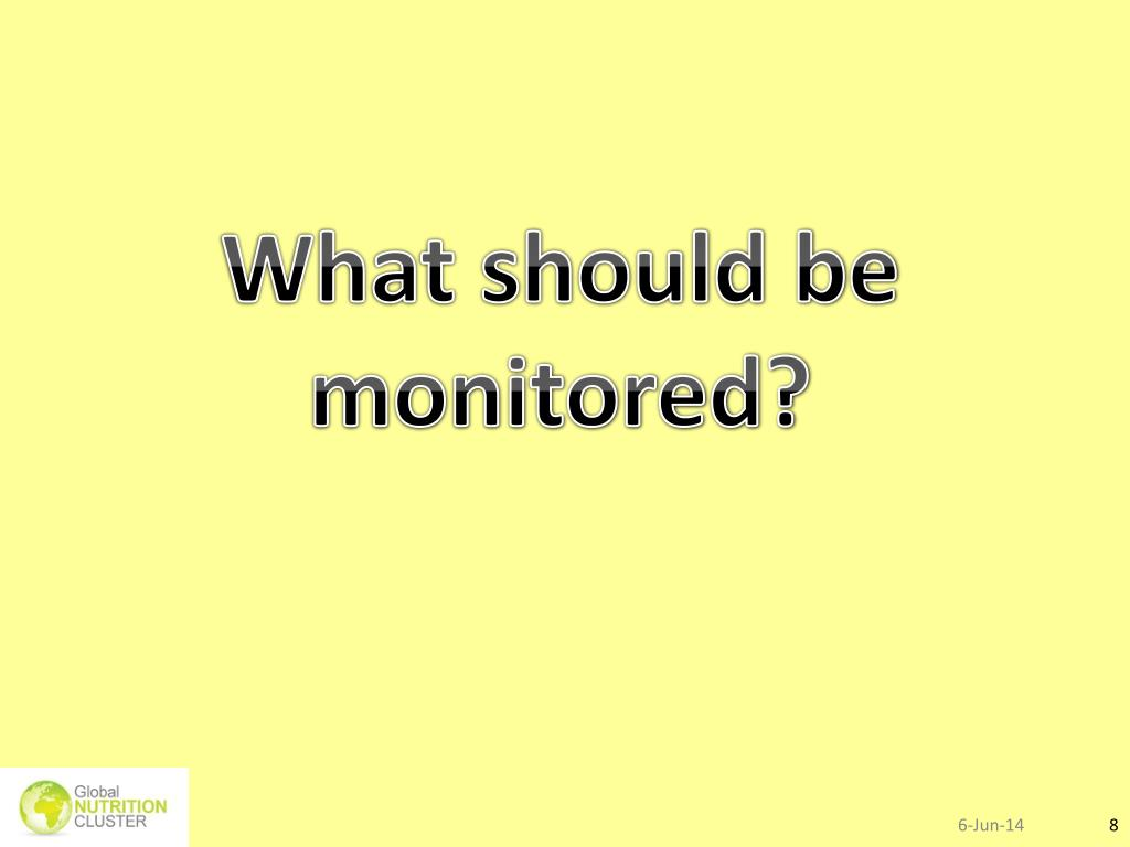 PPT - Nutrition information and surveillance systems Module