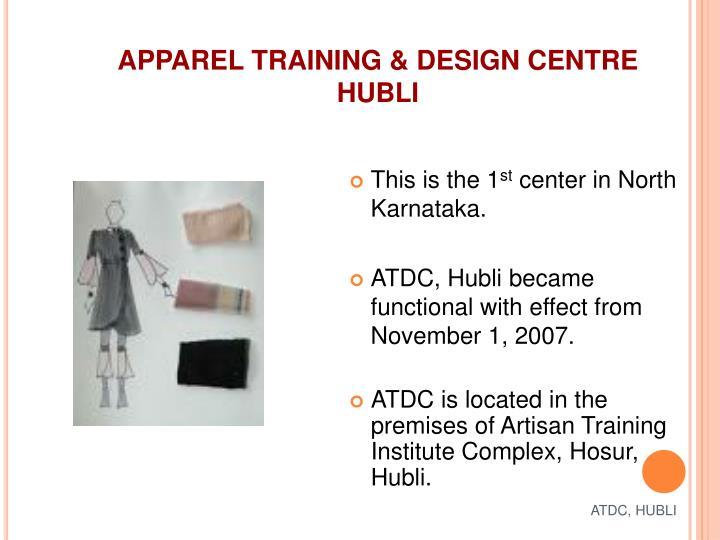 ATDC, HUBLI