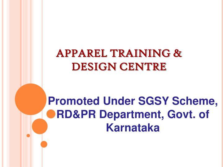 Apparel training design centre1