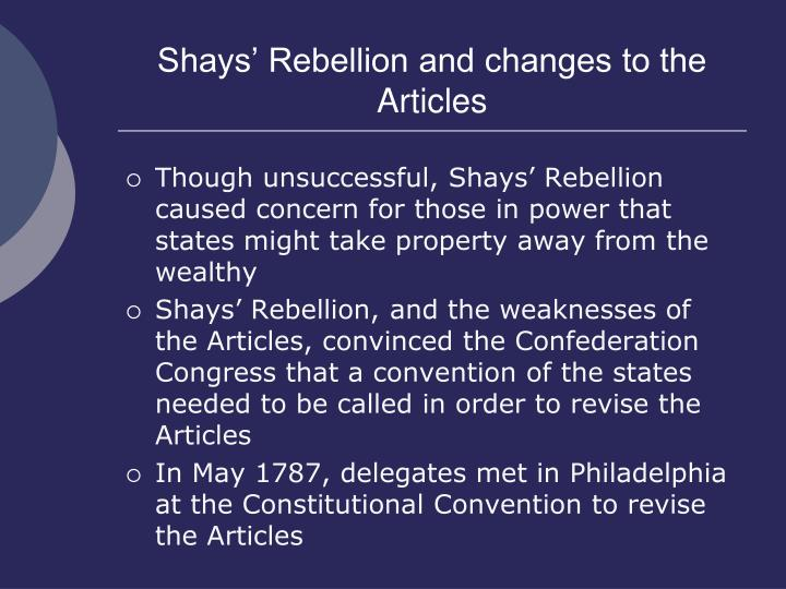 Shays' Rebellion - Wikipedia