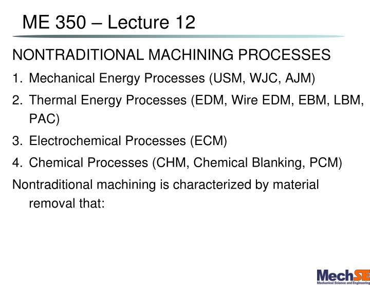 PPT - ME 350 – Lecture 12 PowerPoint Presentation - ID:1163850