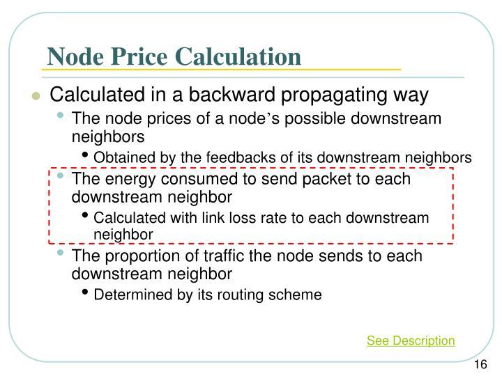 Node Price Calculation