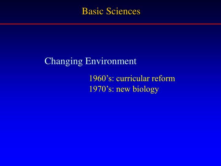 Basic Sciences