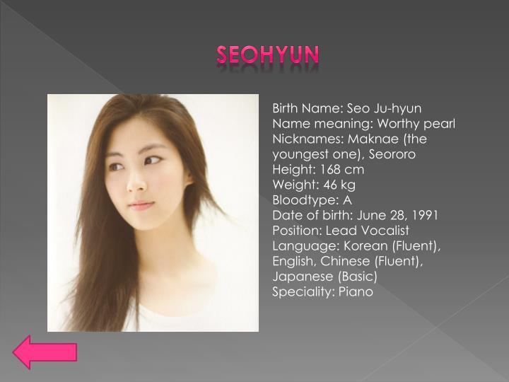 Permainan piano seohyun dating